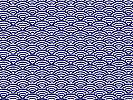 ai Japanese Pattern Qinghai Wave Pattern Swatch with Background 3