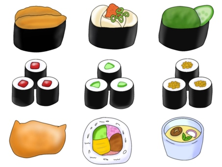 Sushi (color)