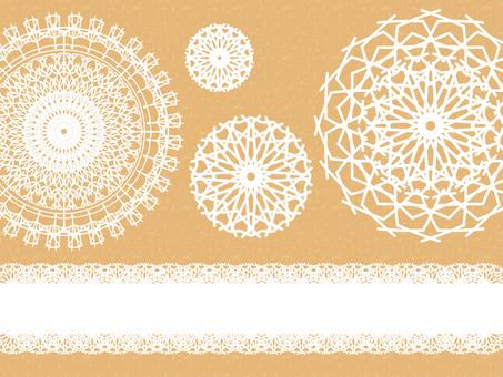 Lace pattern C