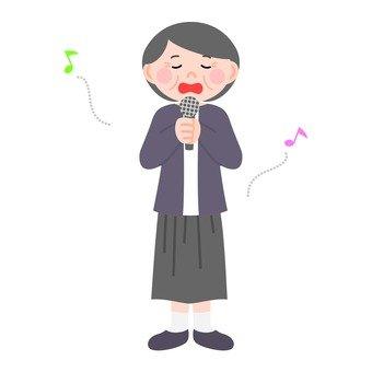 노래 수석 여성