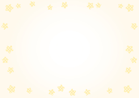 Stars Frame (Yellow)