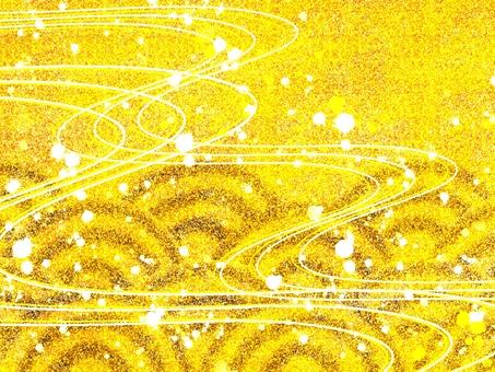 Zephyr wallpaper gold