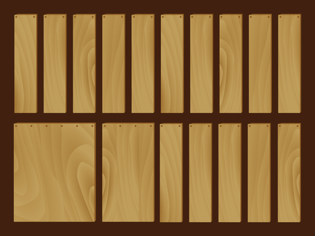 Wood grain set 01