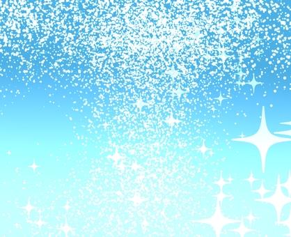 Blue glittering refreshing background