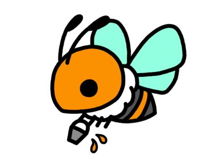 ミツバチ 運搬 橙