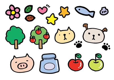 Assortment of illustrations