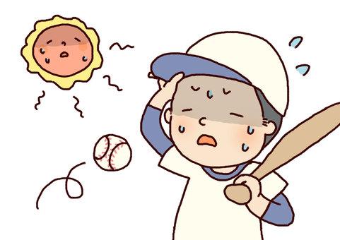 夏天的阳光
