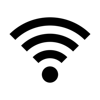 Wi-Fi mark (black)