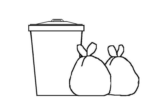 Trash bin 8
