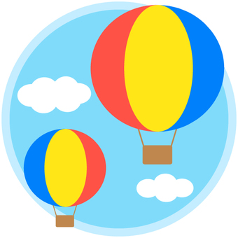 Balloon and sky