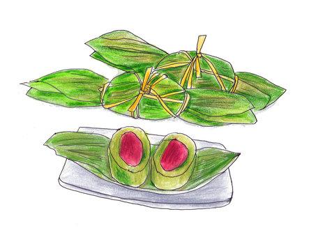 Bamboo dumpling