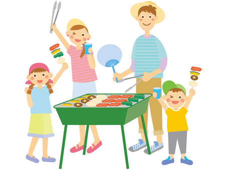 Family barbecue _ 2
