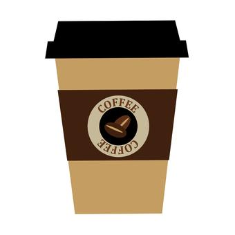 커피 컵의 일러스트