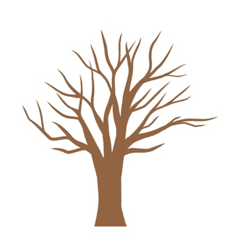 Simple tree (no leaves) 1