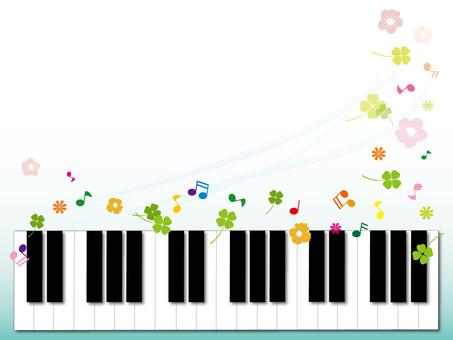 피아노 건반 프레임 2