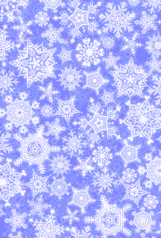 Snow stardust 1 (blue)
