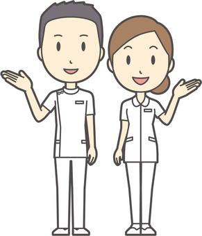 男女セット看護師-020-全身