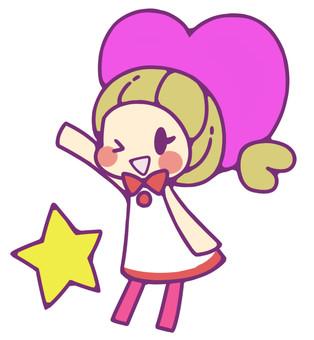 Heart girl 3