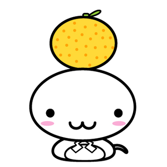Cute millet with oranges