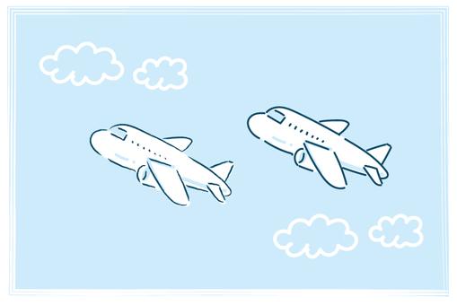 필기 비행기