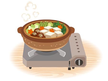 Yu tofu _ cassette stove