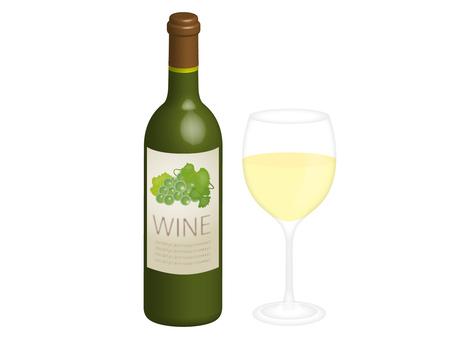 White wine set