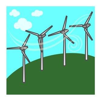 Wind-power generation