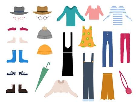 Clothes accessories etc.
