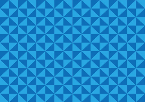 Geometrical pattern Blue