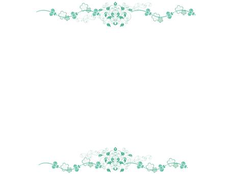 Frame moss green
