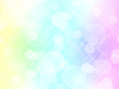 Background · Healing pastel color · Rainbow