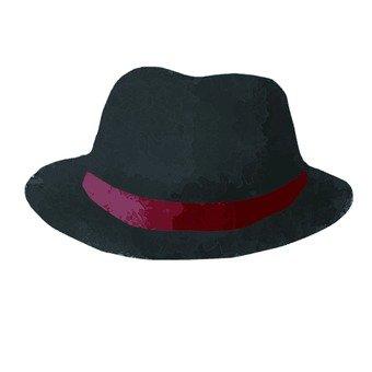 Hand-drawn wind hat