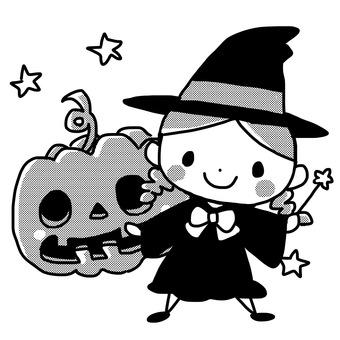 巫婆和南瓜