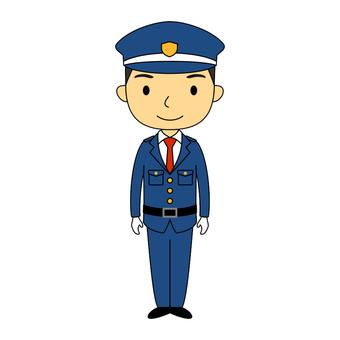 Male full body guard 1