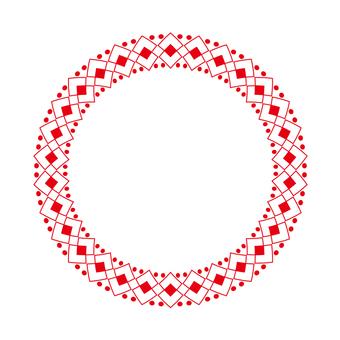 Circular material -224