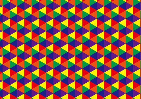 기하학적 (육각형)