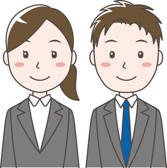 Men and women suits
