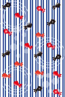 Striped goldfish