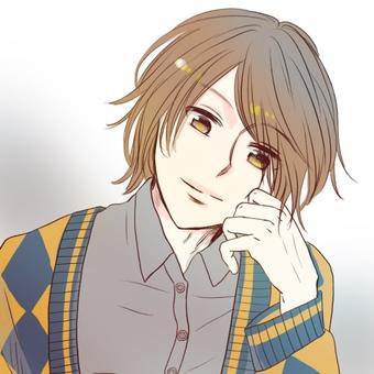 Handsome icon