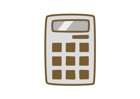 Calculator 4 (Simple hand drawn style)
