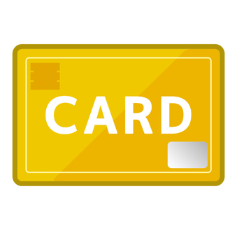 Credit card card gold