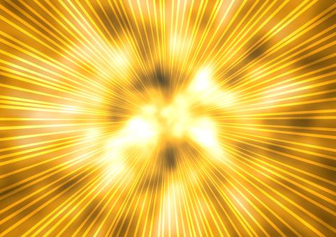 Flash background gold