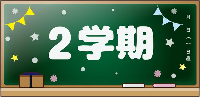 Blackboard message 2 semester