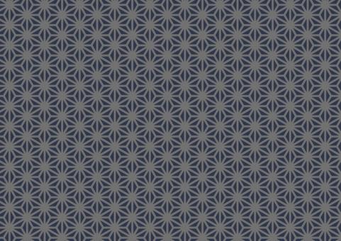 Japanese pattern (hemp leaf) 4