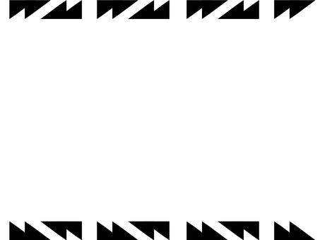 Tribal style frame