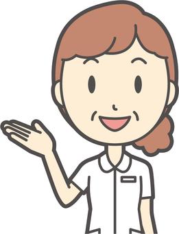 中年女護士白大衣--150胸圍