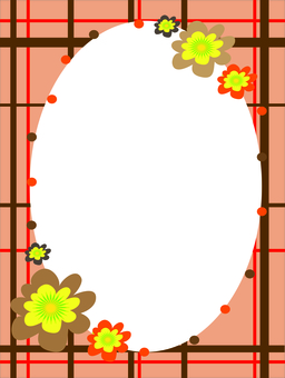 Autumn color frame