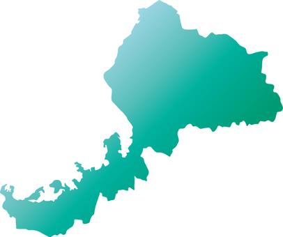 Fukui Prefecture _ Silhouette _ Green_Grade