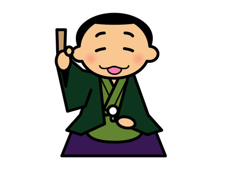 Rakugo house illustration