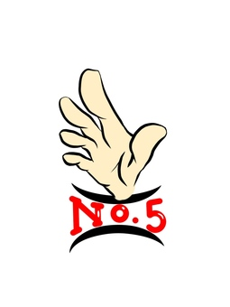 Ranking no.5 finger